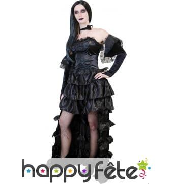 Costume de princesse gothique