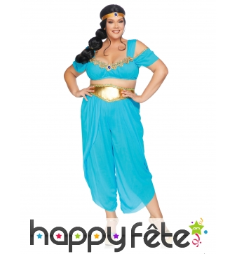 Costume de princesse orientale grande taille