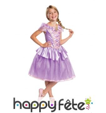 Costume de princesse raiponce pour enfant