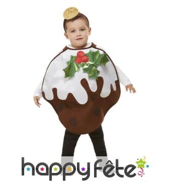 Costume de Pudding de Noel pour enfant