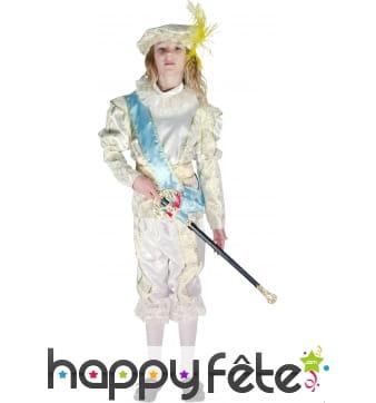 Costume du petit Prince Alexandre