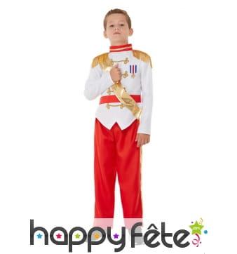 Costume du Prince charmant pour enfant