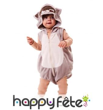 Combinaison de raton laveur pour bébé