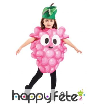 Costume de raisin pour enfant