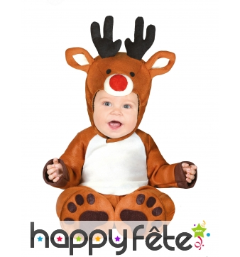 Costume de renne pour bébé
