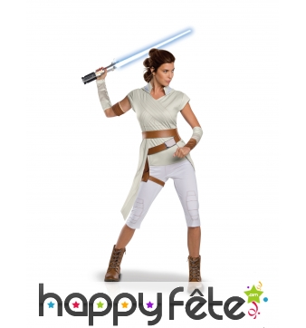 Costume de Rey pour femme, Star Wars of Skywalker