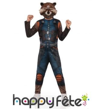Costume de Rocket Raccoon pour enfant