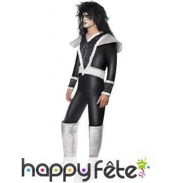 Costume de rockeur glam ACDC