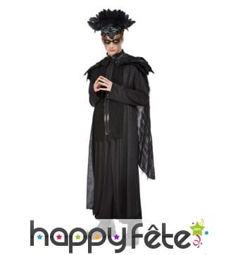 Costume de roi corbeau pour homme