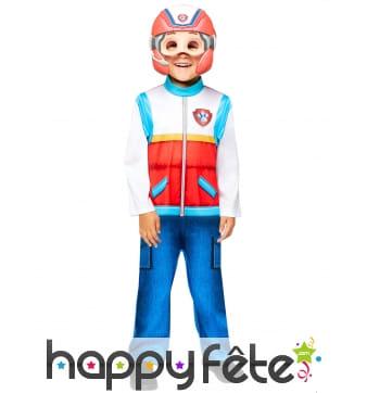 Costume de Ryder avec masque pour enfant