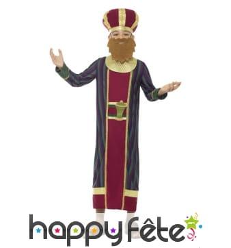 Costume du roi Balthazar pour enfant
