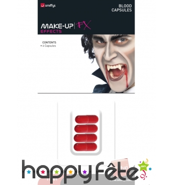 Capsules de sang vampire