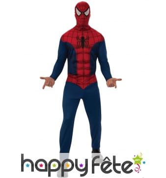 Combinaison de Spider-Man classique pour homme