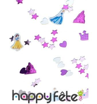 Confettis disney-sur le thème des princesses