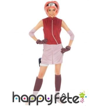 Costume de Sakura Haruno pour femme, Naruto