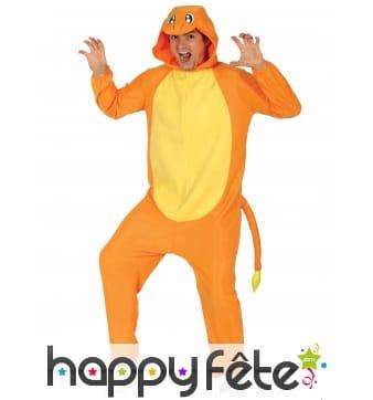 Costume de salamèche pour adulte, Pokemon