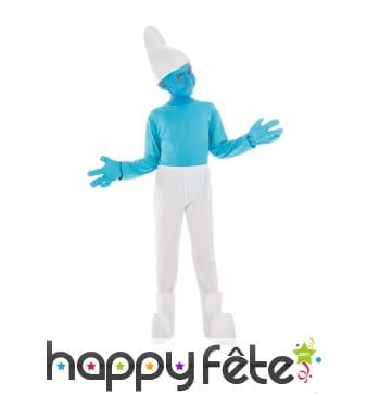 Costume de Schtroumpf pour enfant