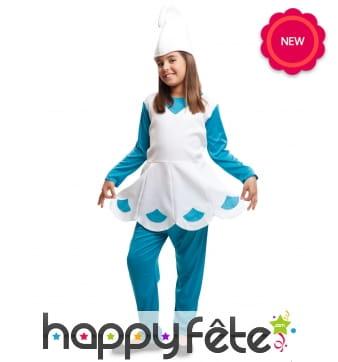 Costume de Schtroumpfette enfant