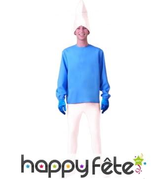 Costume de schtrumpf
