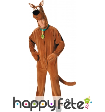 Costume de Scoobydoo Licence