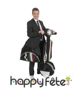 Costume de scooter italien pour homme
