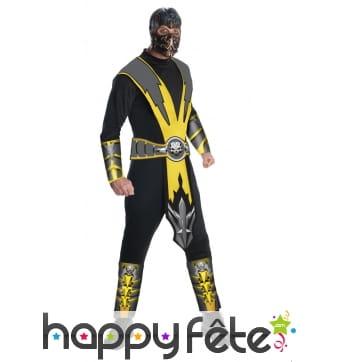 Costume de Scorpion pour homme, Mortal Kombat