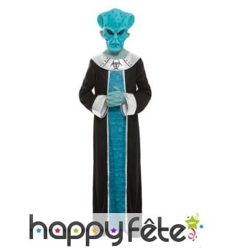 Costume de Seigneur Alien bleu pour enfant