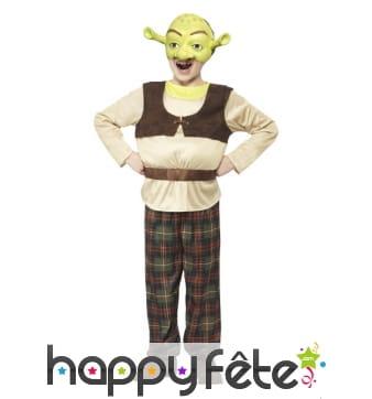 Costume de Shrek pour enfant