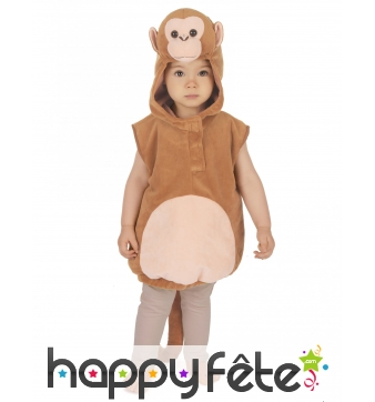 Costume de singe marron pour enfant