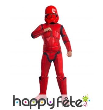 Costume de Sith Trooper pour enfant, luxe