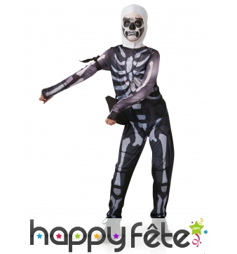 Costume de Skull Trooper pour ado, Fortnite