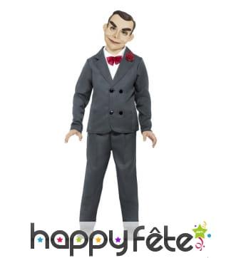 Costume de Slappy pour enfant, le Pantin Maléfique