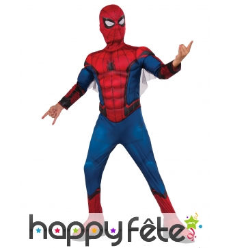 Costume de Spiderman Homecoming musclé pour enfant
