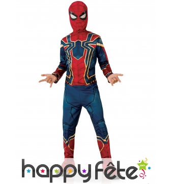 Costume de Spiderman Infinity War pour enfant
