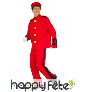 Costume de Spirou pour adulte