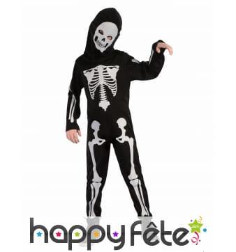 Costume de squelette enfant