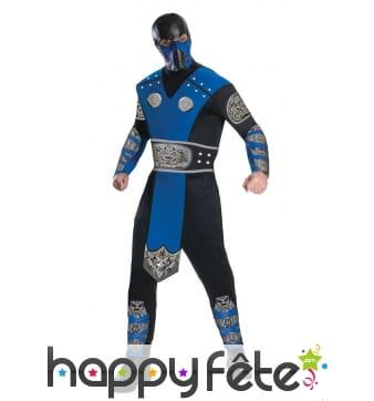 Costume de Subzero pour homme, Mortal Kombat