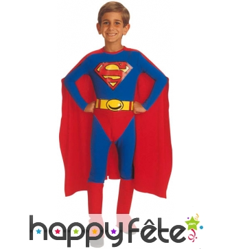 Costume de Superman enfant Licence