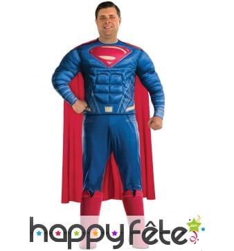 Costume de Superman grande taille, Justice League