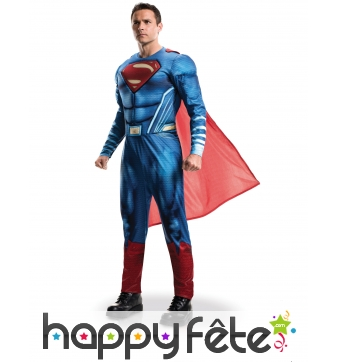 Costume de Superman, Justice League pour adulte
