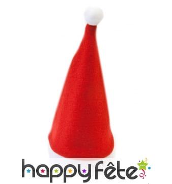 Centre de table bonnet de Père Noël 17,5cm