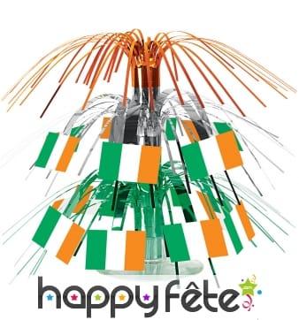 Centre de table drapeaux Irlandais