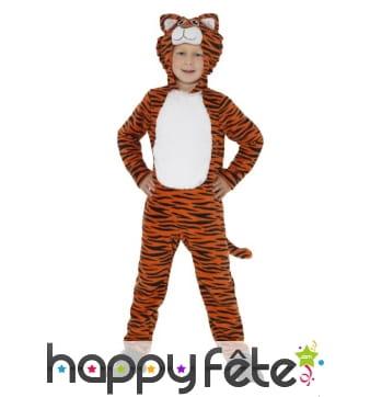 Combinaison de tigre pour enfant