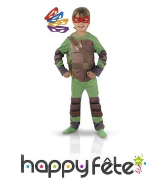 Combinaison de tortue ninja pour enfant