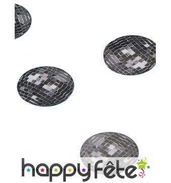 Confettis de table boules à facettes