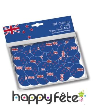 Confettis de table Nouvelle Zélande
