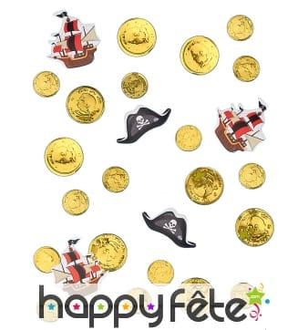 Confettis de table Pirate