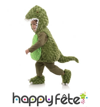 Costume de T-rex en peluche pour enfant