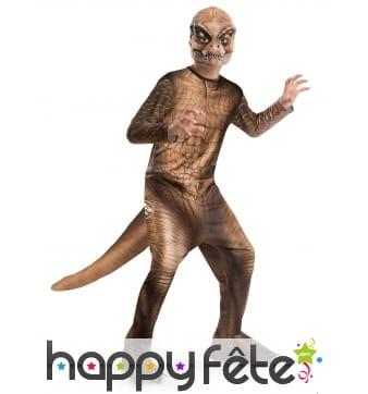 Costume de T-rex Jurassic World pour enfant