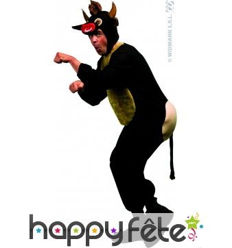 Costume de taureau humoristique